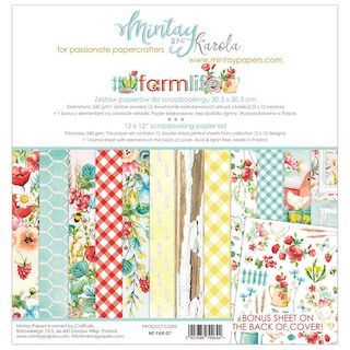 Kit Papeles 12″x12″ FARMLIFE MINTAY