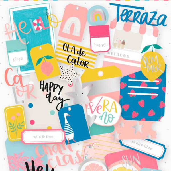 Die Cuts Tags Summer Stories