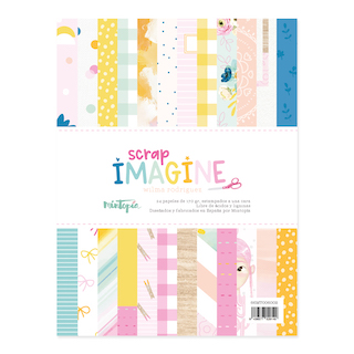 Pad papeles 6″x8″ IMAGINE
