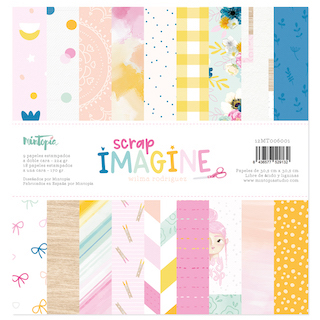 Stack papeles 12″x12″ IMAGINE