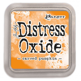 Tinta Distress Oxide Carved Pumpkin