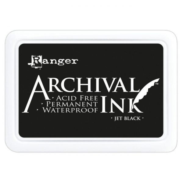 Tinta Archival ink pad Jet black