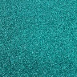 Vinilo Termotransfer para Ecopiel-Glitter Turquesa