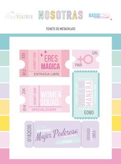 NOSOTRAS Tickets Metacrilatos