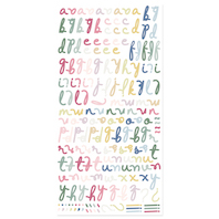 Alfabeto Puffy «PÉTALOS»