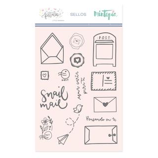 Sello Snail Mail «PÉTALOS»