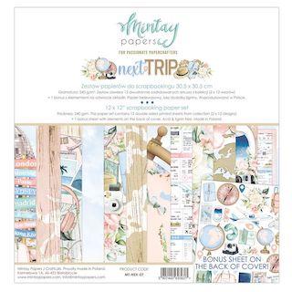Mintay Papel 12″x12″ Next Trip de Mintay by Karola