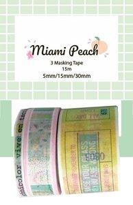 Washi Tape Miami Peach