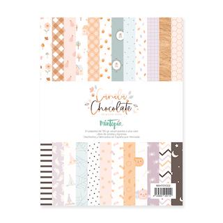 Pad 6″x8″  CANELA Y CHOCOLATE