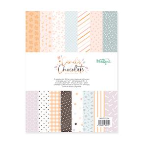 Pad 6″x8″ Tarjetas CANELA Y CHOCOLATE